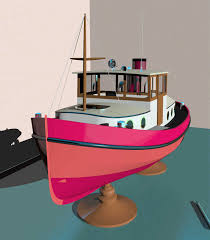 Wooden Model Boat Plans Free by Wooden Boat Build Ecommerce Doela Mini Tug Plans Link Type Free