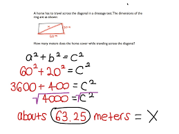 Eighth Grade Worksheets Pythagorean Theorem Math Pythagorean Theorem Middle
