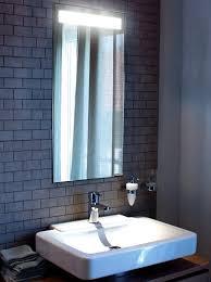 Bathroom Mirror With Lights Built In by Mirror With Hidden Light Interior Design Inspiration Eva Designs