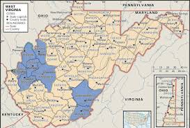 Virginia On Map by Wv Coverage Area Boggs U0026 Associates Inc