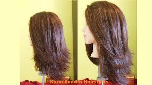long bob haircut tutorial step by step long layered haircut