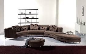 Log Cabin Area Rugs by Furniture Red Curved Sectional Sofa With Round Rug For Living
