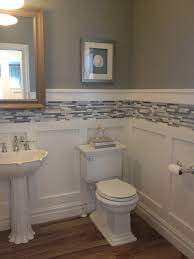 Wainscoting Ideas Bathroom awesome wainscoting small bathroom small bathroom wainscoting