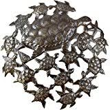 Sea Turtle Home Decor Amazon Com Sea Turtle Metal Wall Art Handmade In Haiti Steel