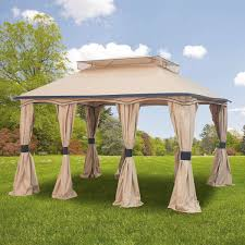 Replacement Canopy Covers by Home Depot Gazebo Replacement Canopy Cover Garden Winds