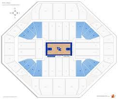 rupp arena kentucky seating guide rateyourseats com