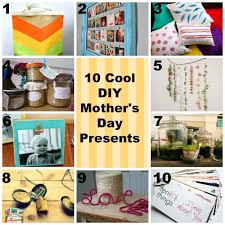10 cool diy mother u0027s day presents 4over4 com