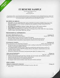 Breakupus Scenic Information Technology It Resume Sample Resume Genius With Entrancing Information Technology It Resume Sample With Enchanting Resume Resume     Break Up