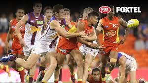 Foxtel Insider Foxtel AFL Brisbane Lion v GC Suns on FOX FOOTY