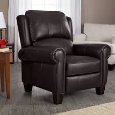 Chocolate Living Room Furniture by Amazon Com Brown Leather Recliner Living Room Furniture