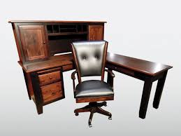 Solid Oak Office Furniture by Office Furniture Amish Furniture Gallery Custom Built Solid