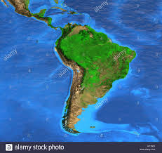 South America River Map by Detailed Satellite View Of The Earth And Its Landforms South