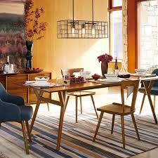 MidCentury Expandable Dining Table Walnut West Elm UK - Century dining room tables