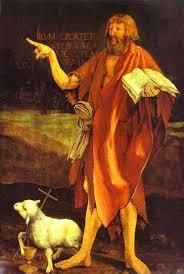 Voici l'Agneau de Dieu. (Retable d'Issenheim; Grünewald)