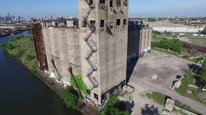 abandoned places usa damen silos chicago il drone footage 4k youtube