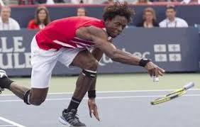 Monfils, a tope