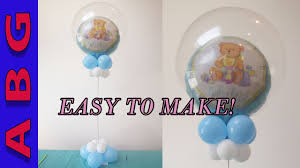 Boy Baby Shower Centerpieces by Its A Boy Baby Shower Decorations Diy Double Bubble Balloon