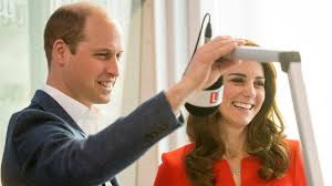 prince william and kate middleton make each other laugh while