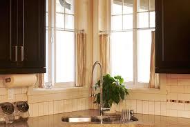 Elegant Kitchen Curtains by Decorating Elegant Beige Target Kitchen Curtains With Graff