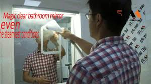 super mirror antifog mirror fogless mirror no fog mirror youtube