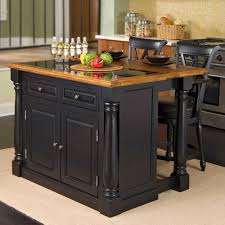 amazon com home styles monarch slide out leg kitchen island with