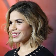 short hairstyles creative chin length texture bob haircut on