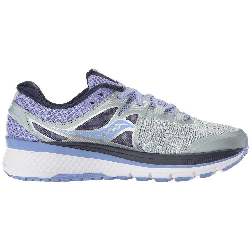 Saucony Triumph Iso 3 Running Shoe 7.5M Grey / Purple