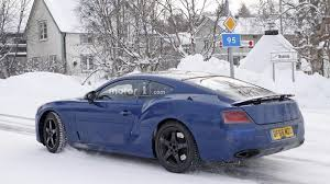 spy picture new bentley continental gt 2018 sport cars