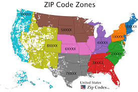 Time Zone Map Usa With Cities by Free Zip Code Map Zip Code Lookup And Zip Code List