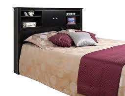 amazon com black kallisto bookcase headboard with doors queen