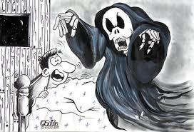 Fantasma asustando