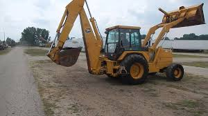 1991 john deere 710c turbo 4x4 loader backhoe 20237 youtube