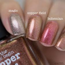 nail polish copper field