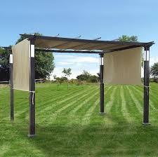 Pergolas Home Depot by Pergola Canopy And Cover For Sears Pergolas Garden Winds