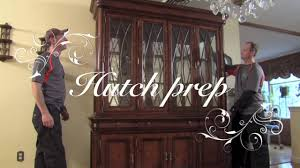 how to move a dining room hutch from monster movers youtube
