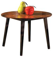 Steve Silver Dining Room Furniture Abaco Round Drop Leaf Table W Acacia Finish Contemporary
