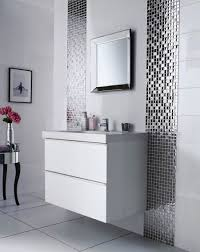 Pictures Of Small Bathrooms With Tile Bathroom White Mounted Wall Sink Cabinet Plus Glossy Bathroom Tile