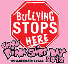 pink shirt day to stop bullying and anti-bullying