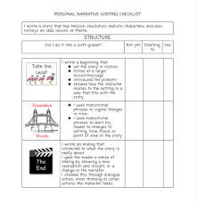 Personal Narrative Essay Rubric High School   personal narrative     math worksheet   personal narrative writing rubric middle school common core   Personal Narrative Essay Rubric