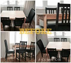 ikea ingo dining table gets marbled ikea hackers ikea hackers
