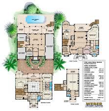 casa real nueva house plan weber design group