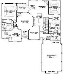 100 in law suite plans plan 62666dj five bedroom modern
