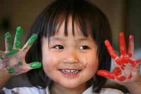 Petite Chinoise, sois heureuse!