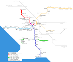 Los Angeles Light Rail Map by Trusts Tactical Randomization For Urban Security In Transit Systems