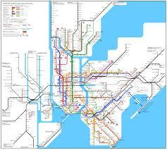 Map New York City by New York City Rail Map Wod Gotham