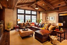 prepossessing 40 living room design ideas brown leather sofa