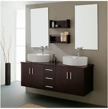 55 Inch Double Sink Bathroom Vanity by Bathroom Matte Black Double Undermount Sink Bathroom Vanity With