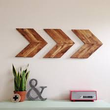 Wood Decor by 15 Striking Ways To Decorate With Arrows