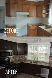Kitchen Cabinets Stain Cabinet Refinishing 101 Latex Paint Vs Stain Vs Rust Oleum