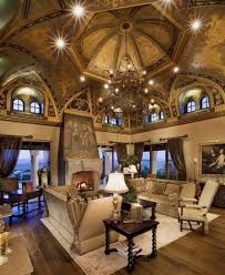 Luxury Homes Interior Designs Old World Style With Amazing Ceiling - Luxury homes interior pictures